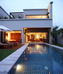 Pool & Building - 002