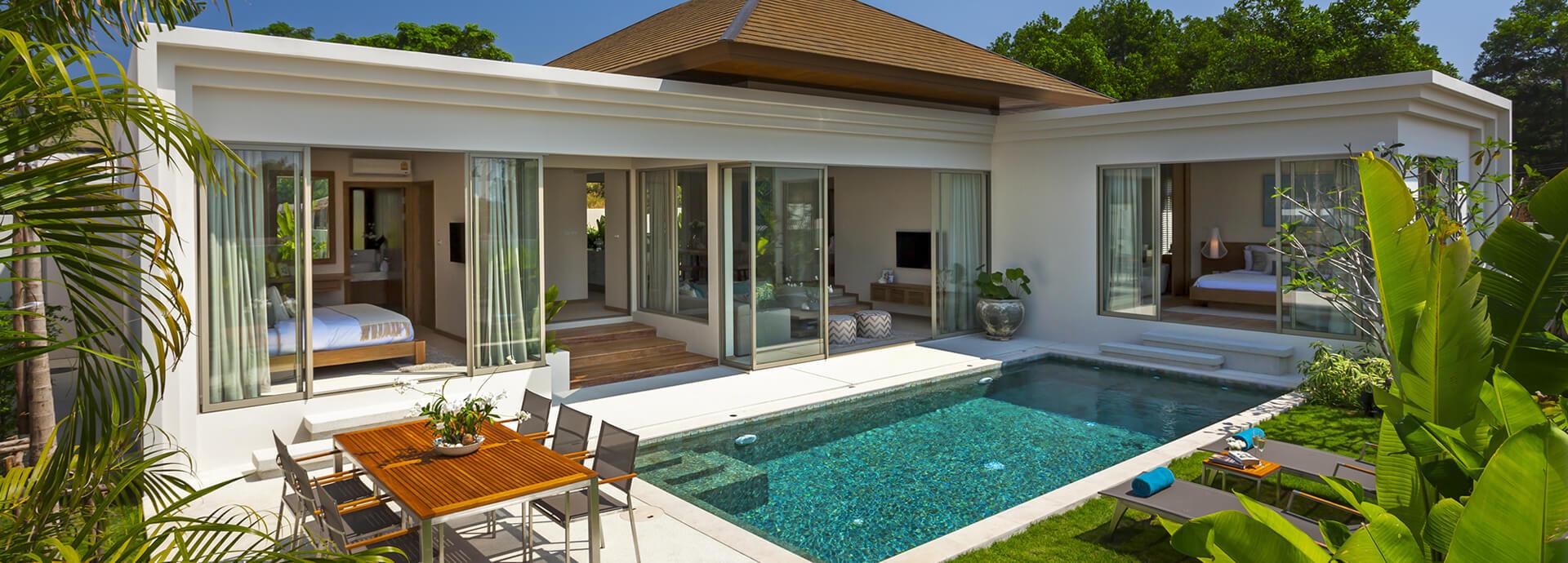 Beautiful 2 & 3 Bed Pool Villas