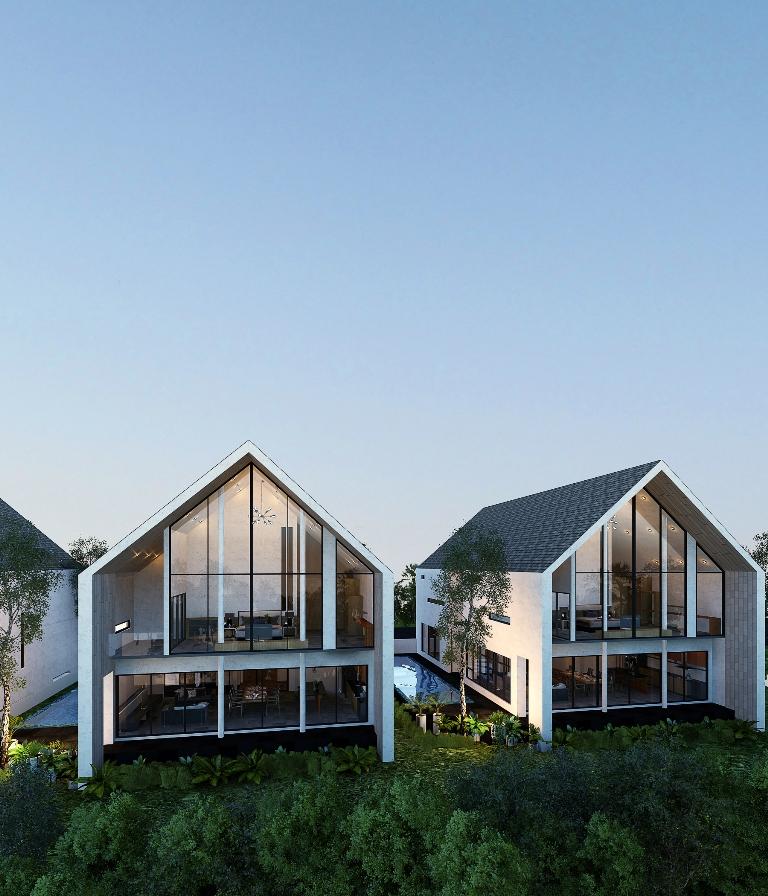 See Modern Pool Villas - 1637 details