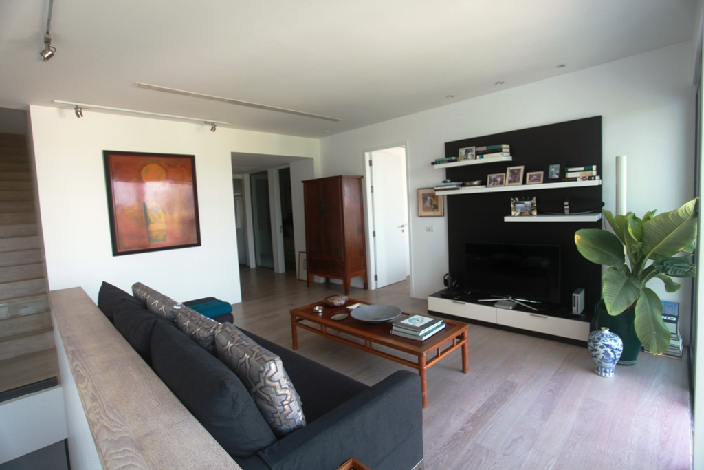 3 Bed Sea View Townhome - 1641-Surin Saan Family Room Panorama(1).jpg