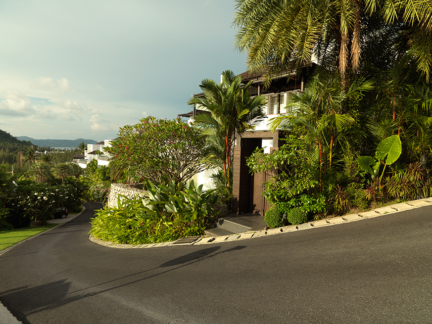 3 Bed Sea View Townhome - 1641-Surin Heights Driveway(1).jpg