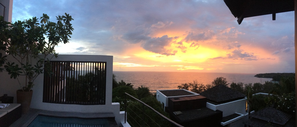 3 Bed Sea View Townhome - 1641-Surin Saan Ocean Panorama View from Gazebo.jpeg